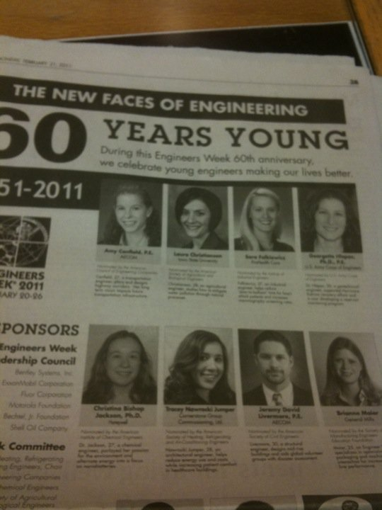 The New Face of Civil Engineering 2011 is Jeremy Livermore